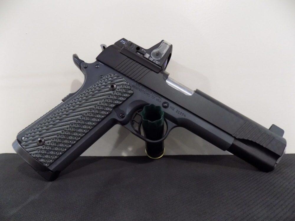 A handgun for sale at Shawsheen Firearms & Gunsmithing in Billerica, MA